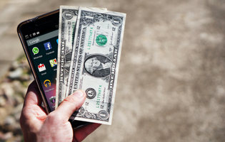 Money that is possible to get with mobile in-text ads monetization.
